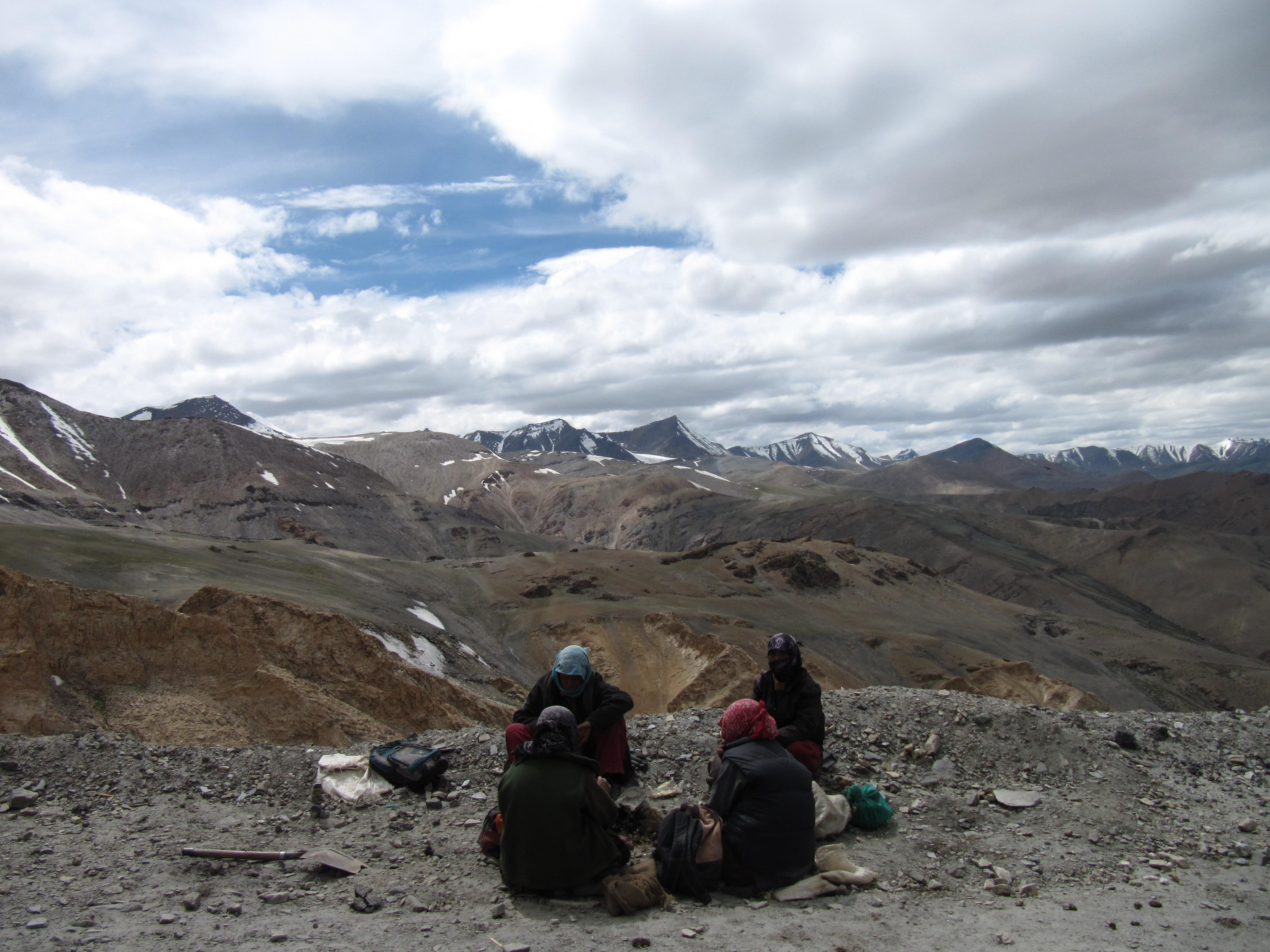 Dura via, sed via, à l'approche de Leh, Inde, 4 juillet 2013