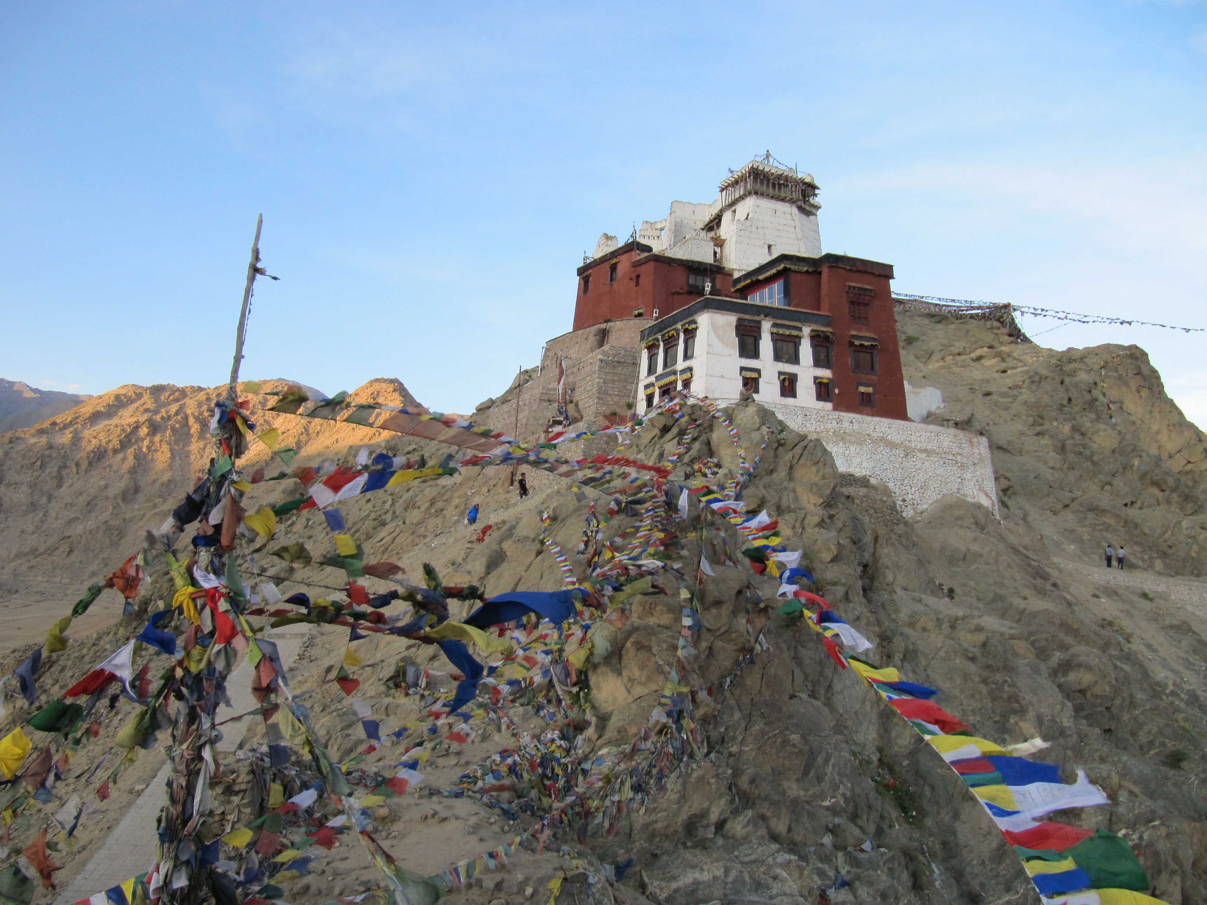 Palais de Leh, Inde, 6 juillet 2013
